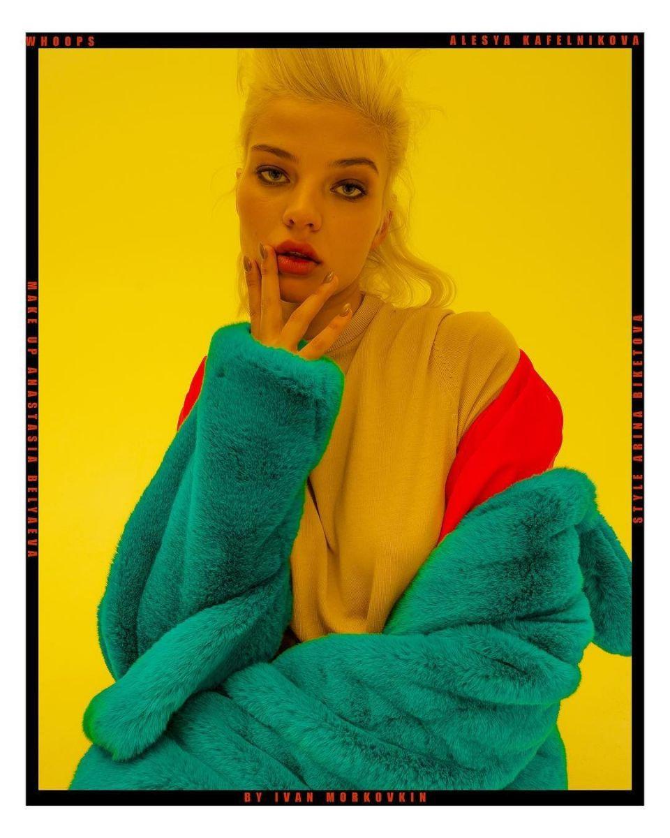 Balistarz-model-Alesya-Kafelnikova-portrait-shoot-for-Whoops-by-Ivan-Morkovkin