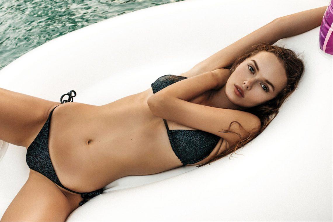 Balistarz-model-Angelina-Boyko-landscape-shoot-in-a-black-swimsuit-with-a-float