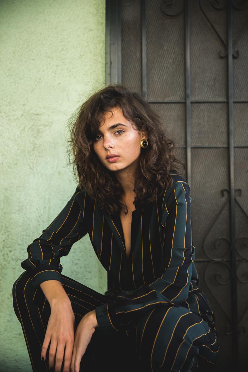 Balistarz-model-Famke-Van-Hagen-fashion-in-dress