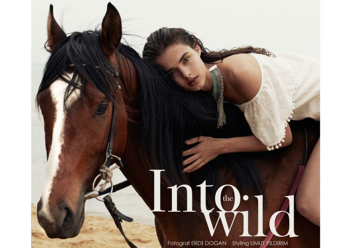 Balistarz-model-Famke-Van-Hagen-fashion-shot-riding-horse-into-the-wild