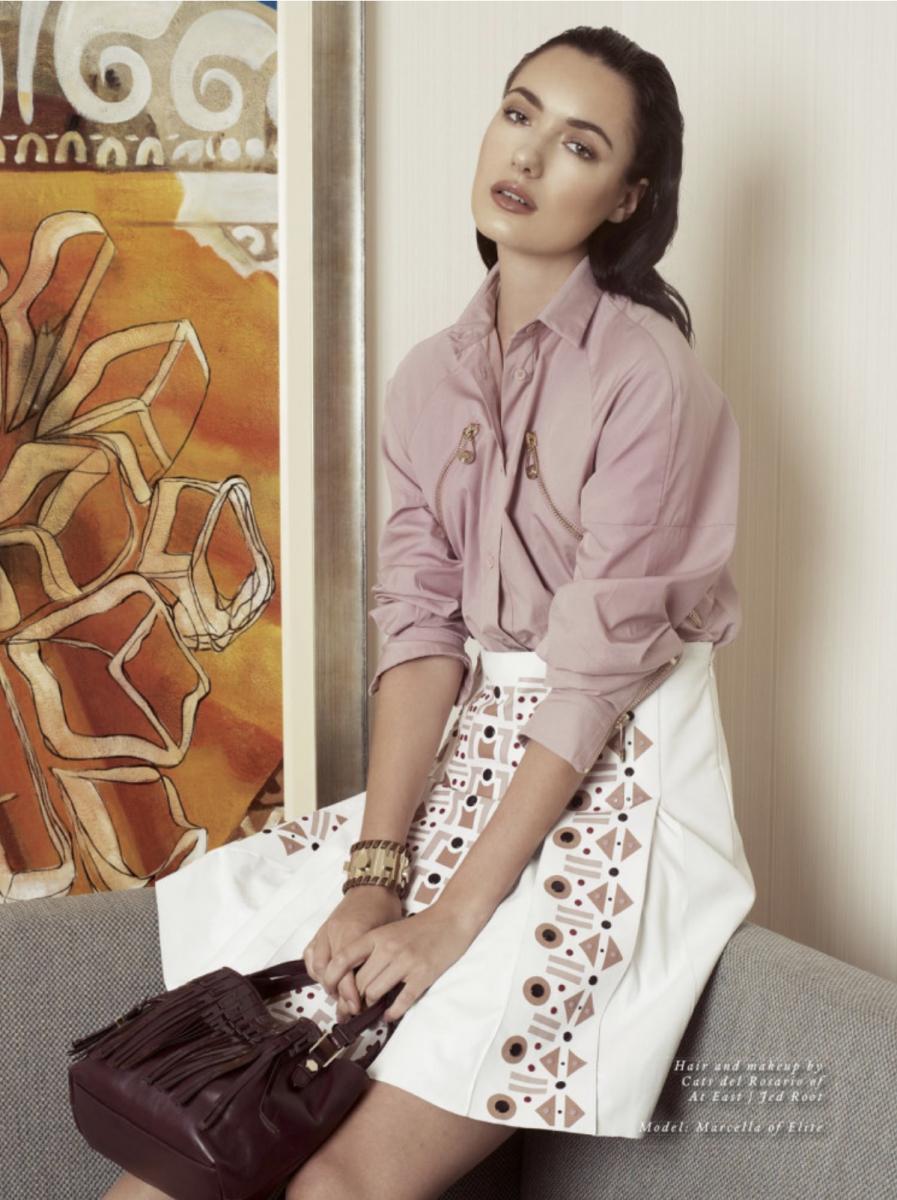 Balistarz-model-Marcella-Van-De-Leen-portrait-magazine-shoot-in-casual-outfit