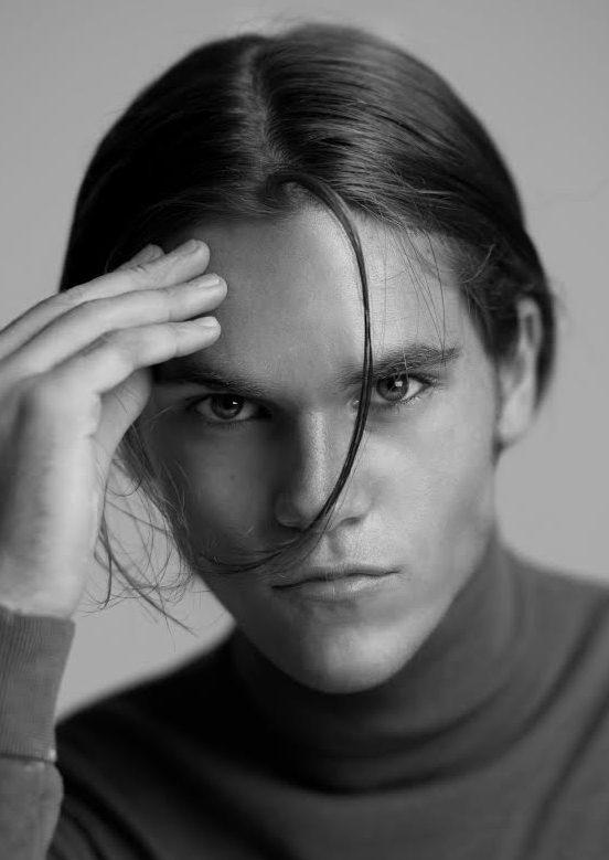 Balistarz-model-Miro-Gerede-Black-White-Head-shot-Profile-Portrait
