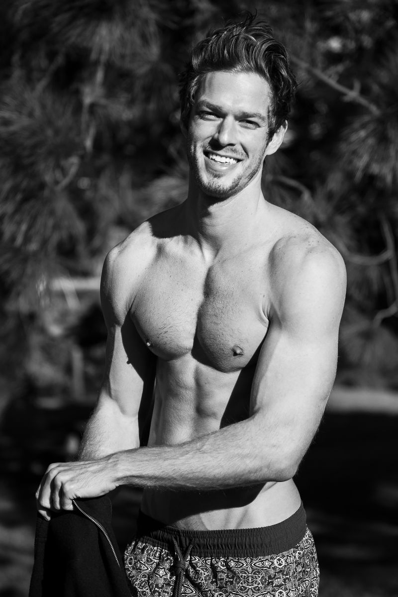 Balistarz-model-Mitch-Walker-profile-shot-black-and-white