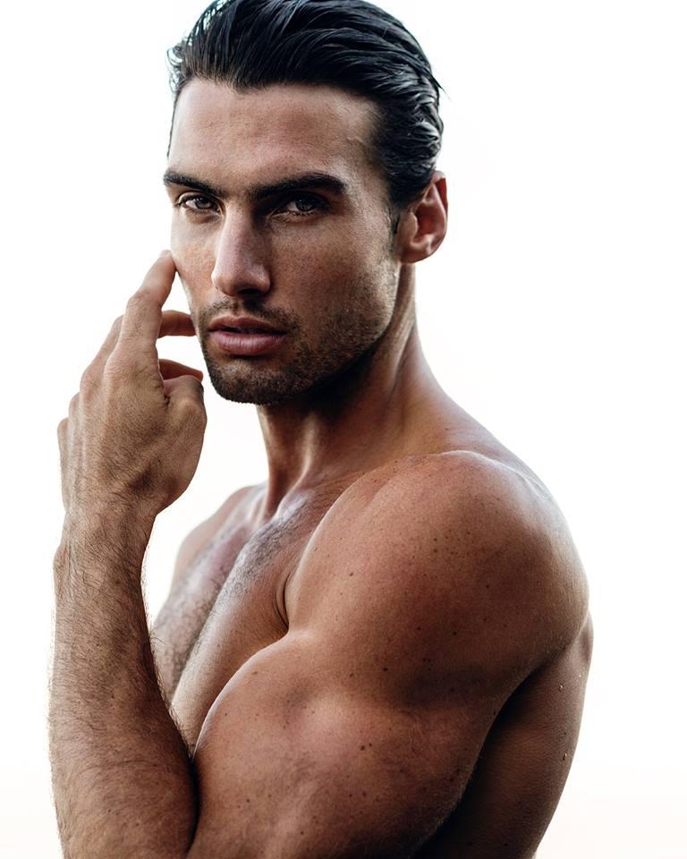 Balistarz-model-Mitchell-Wick-studio-portrait-on-white-background