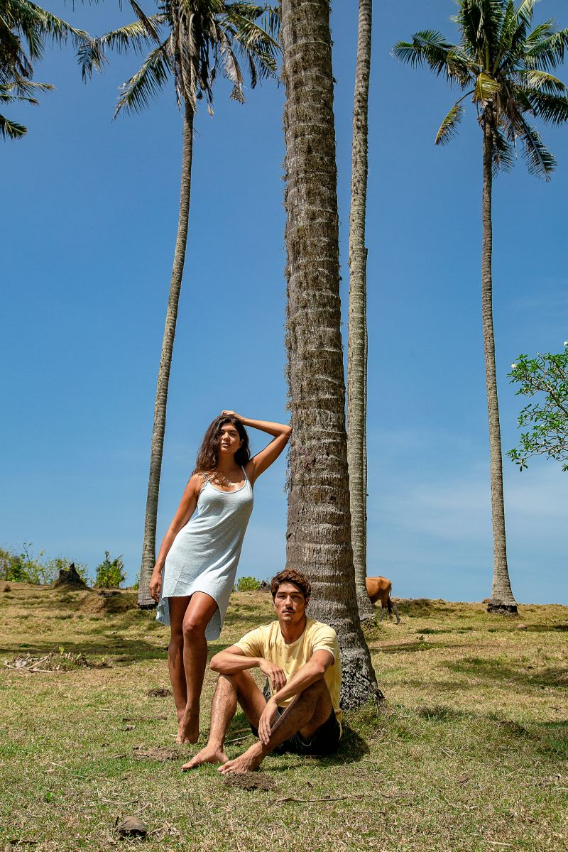 Balistarz-model-Nena-France-fashion-photo-shoot-under-the-coconut-tree-for-blood-n-bone-brand