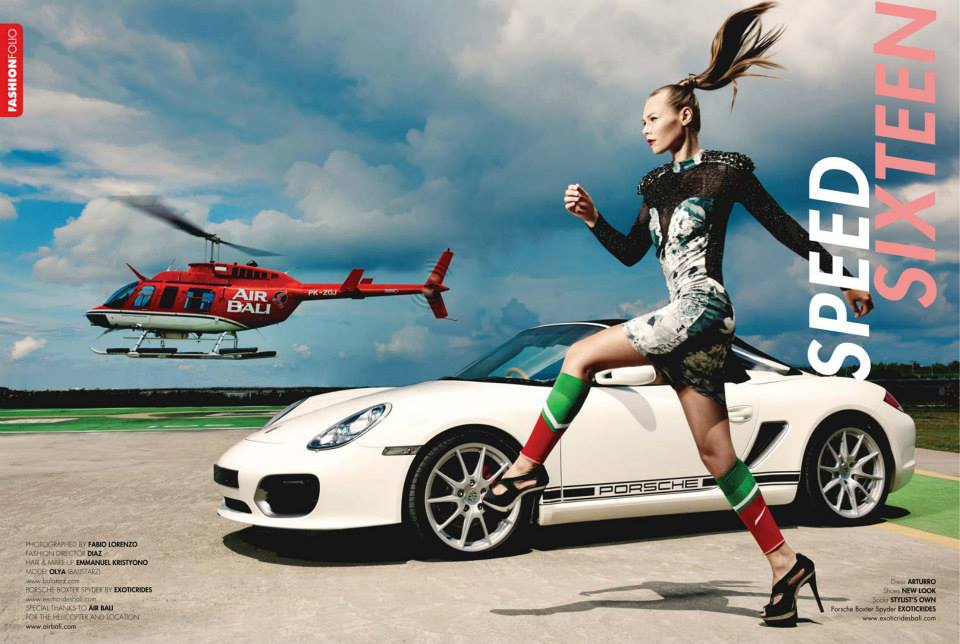 Balistarz-model-Olya-Nechiporenko-high-style-fashion-shot-sport-car-and-helicopter-in-background