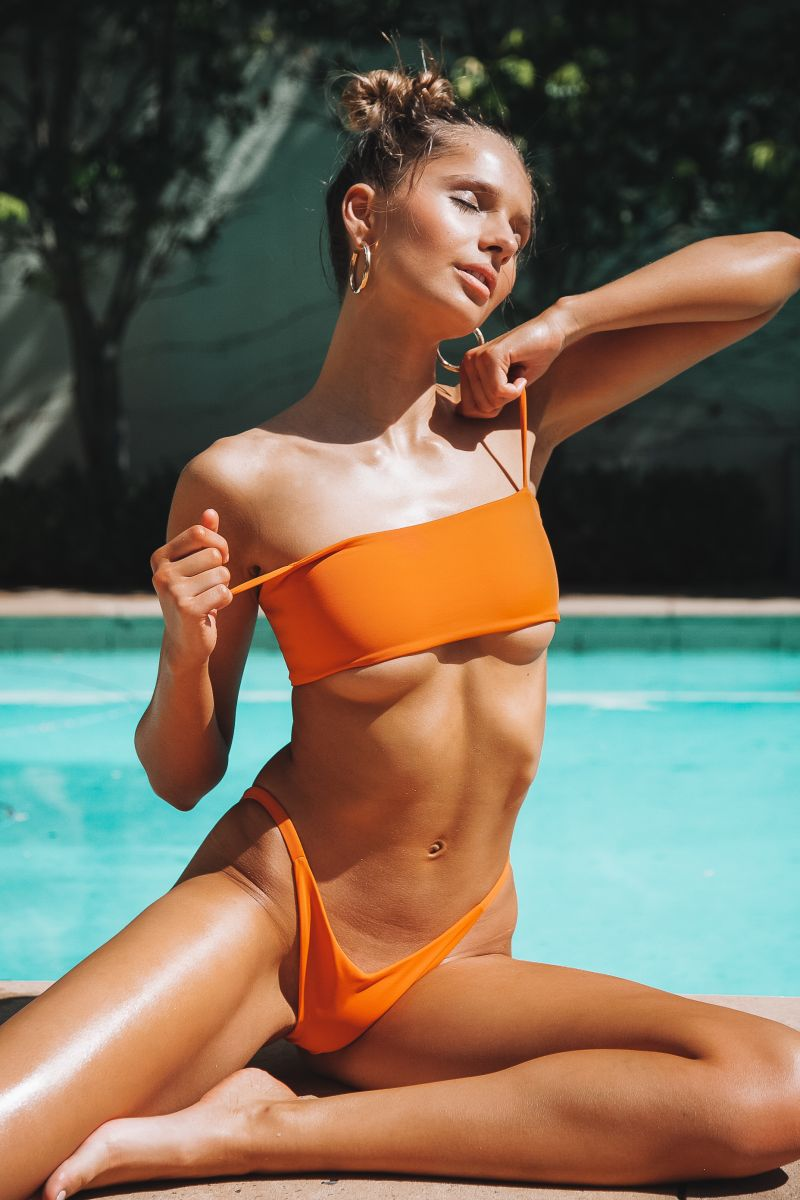 Balistarz-model-Pai-Cattapan-pool-outdoor-shoot-orange-bikini