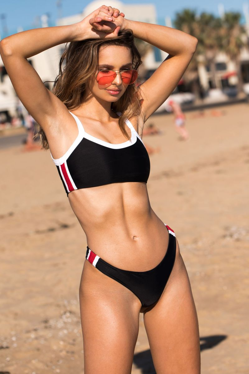 Balistarz-model-Pai-Cattapan-beach-portrait-shoot-red-black-bikini