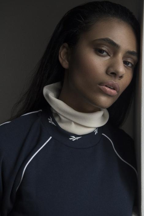 Balistarz-model-Rocky-Brower-studio-portrait-shot-wearing-reebok-sweater