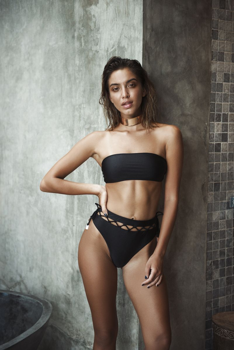 Balistarz-model-Sasha-AP-standing-in-the-bathroom-wearing-nice-black-swim-suit