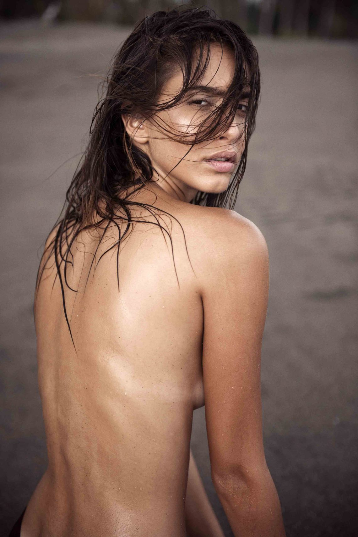 Balistarz-model-Sasha-AP-topless-portrait-going-wet-at-the-bali-beach