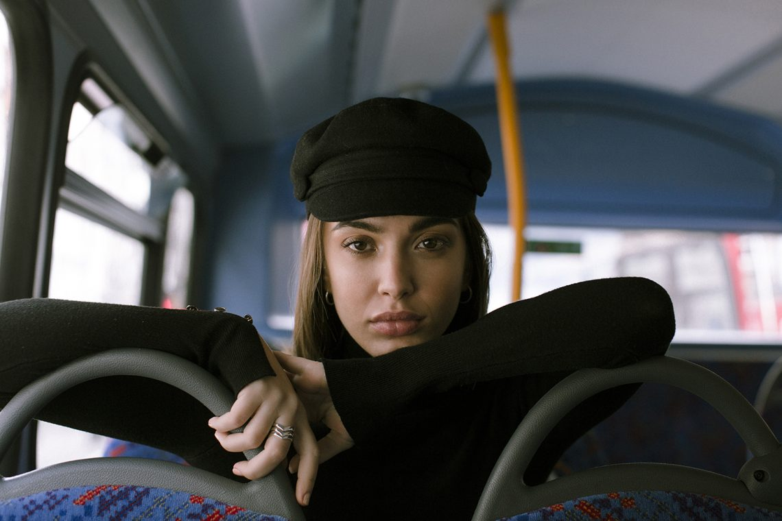 Balistarz-model-Sasha-AP-doing-a-portrait-session-inside-a-city-bus