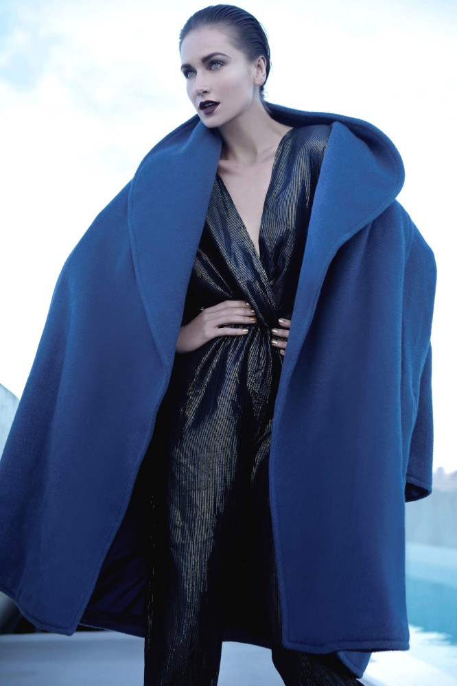 Balistarz-model-Sveta-Kafafova-fashion-shoot-featuring-blue-coat