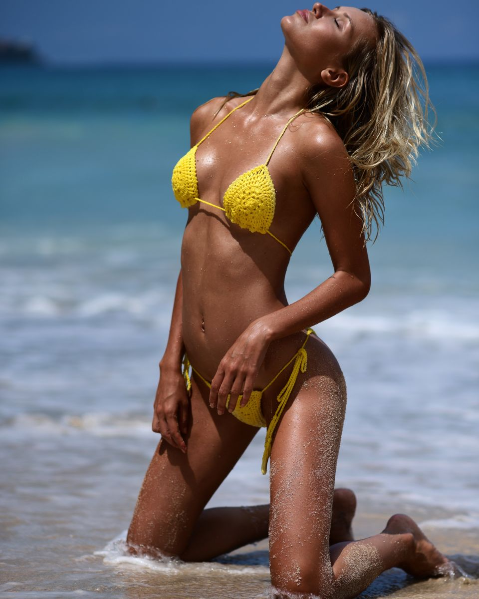 Balistarz-model-Sylvia-Koronkiewicz-swim-wear-shoot-session-on-a-good-day-bright-yellow-bikinis