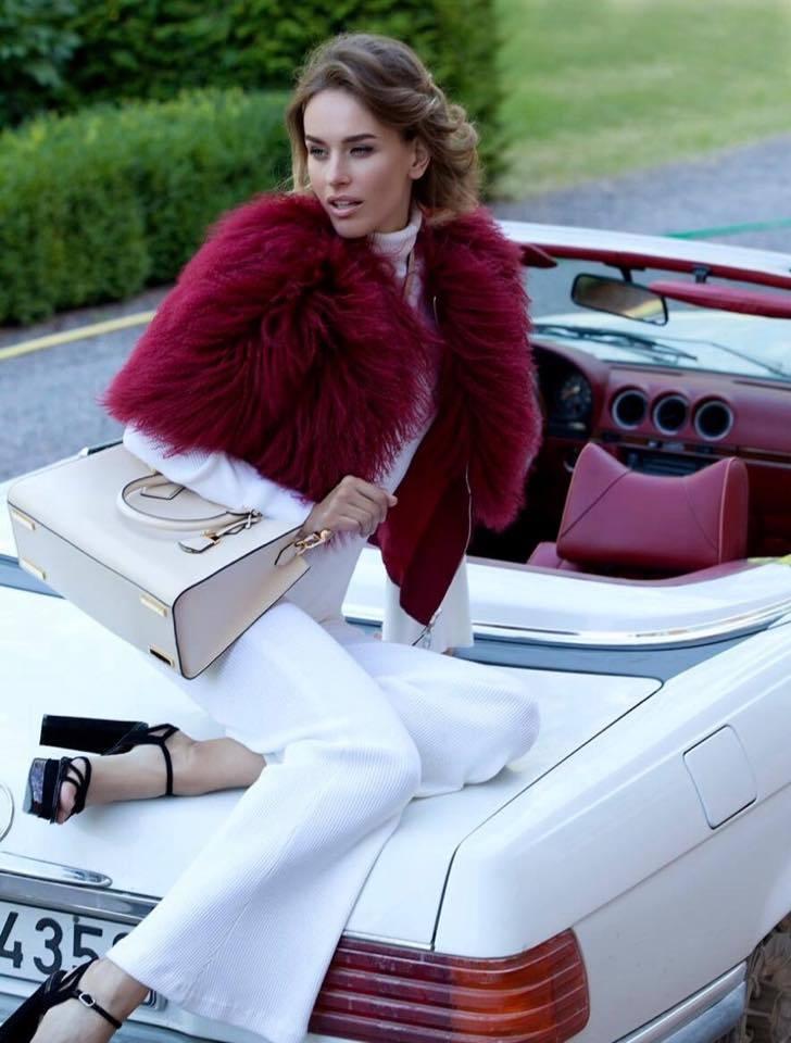 Balistarz-model-Zane-Garlaskelli-fashion-shot-for-business-outfit-high-fashion-sitting-on-white-sedan